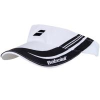 Viseira Babolat 4 - branca/preta