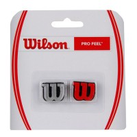Antivibrador Wilson Pro Feel Dram - vermelho / cinza