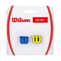Antivibrador Wilson Pro Feel Dram - azul / amarelo