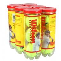 Bola Wilson Championship - Pack c/ 6 tubos