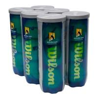 Bola Wilson Australian Open - Pack c/ 6 tubos