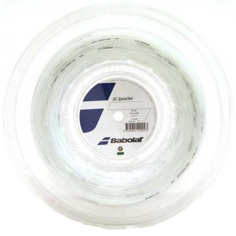 Corda Tripa Sintética Babolat SG SpiralTek 16/1.30 - (rolo 200m)
