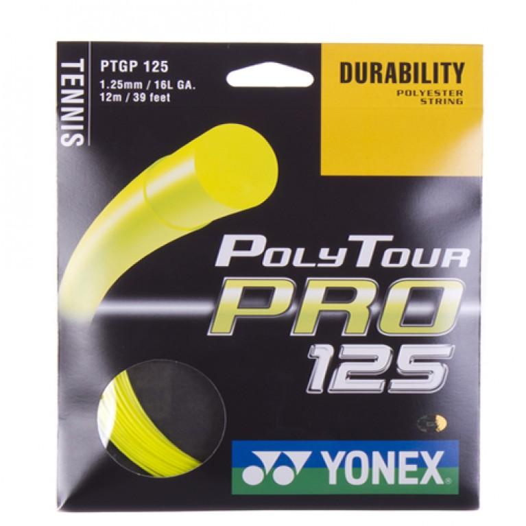 Corda Copolímero Yonex Poly Tour Pro 1.25 - amarela