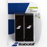 Munhequeira Babolat Jumbo Wristband - preta