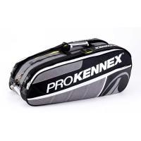 Raqueteira ProKennex Tripla - preta/cinza