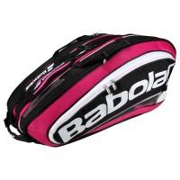 Raqueteira Babolat Team Line Pink - Tripla