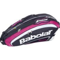 Raqueteira Babolat Team Line Pink - Dupla