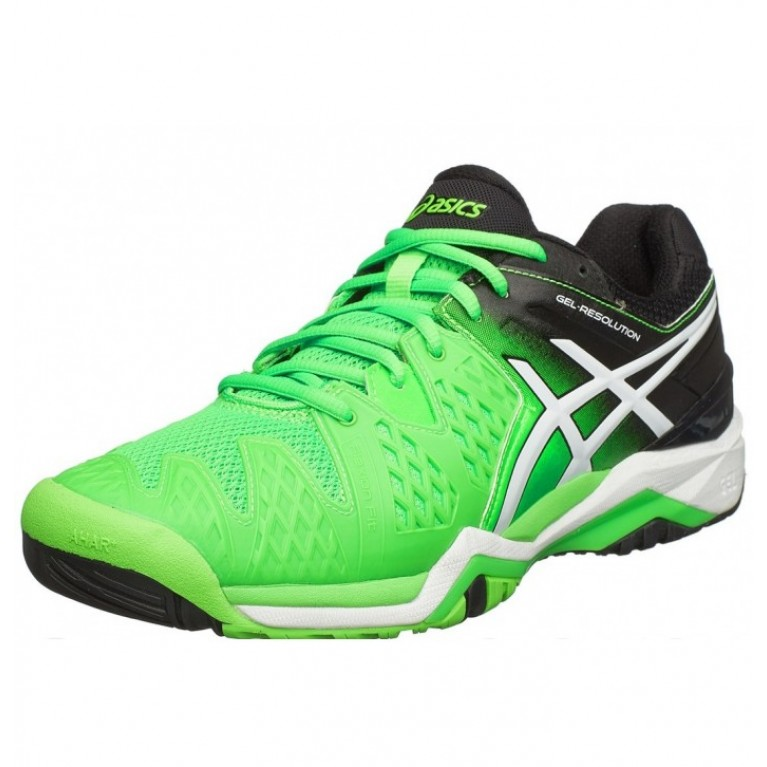 Tênis Asics Gel Resolution 6 - verde / preto