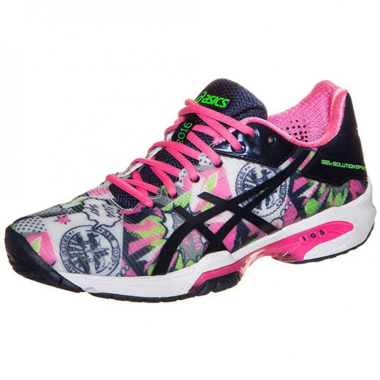 Tênis Asics Gel Solution Speed 3 NYC - feminino