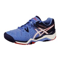 Tênis Asics Gel Resolution 6 - Azul / preto - Feminino