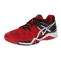 Tênis Asics Gel Resolution 6 - vermelho / preto / branco